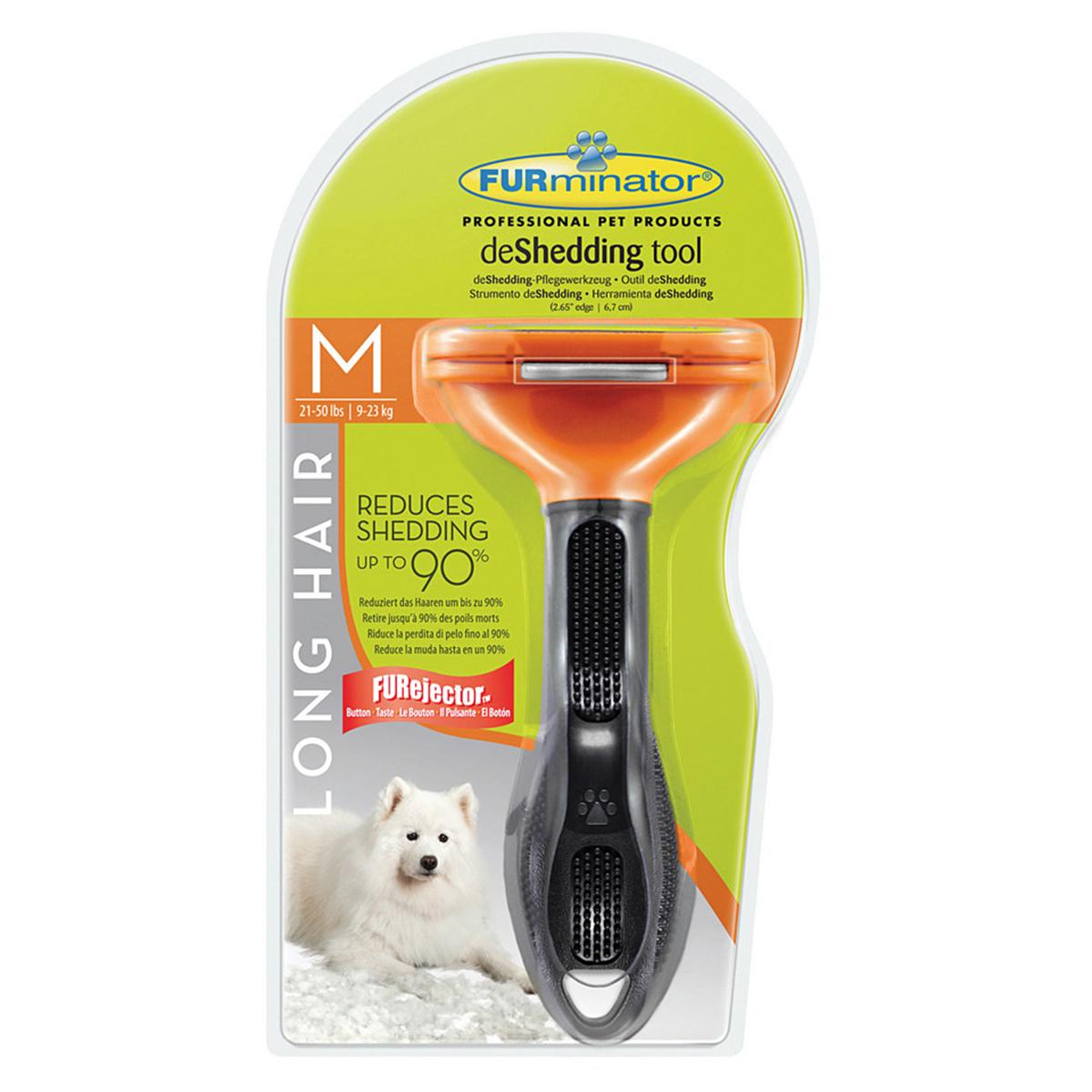 Perie Furminator Dog Long Hair M imagine