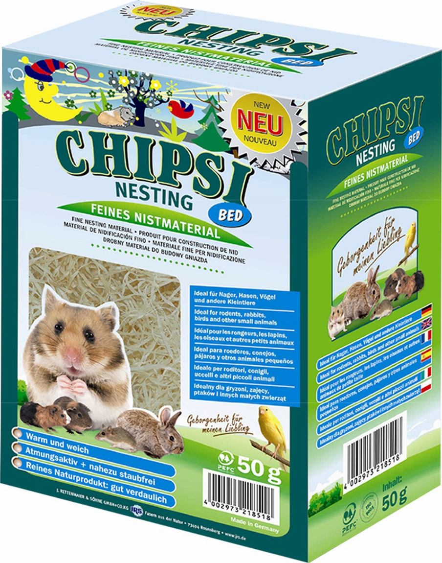 Chipsi Nesting Bed 50 G imagine