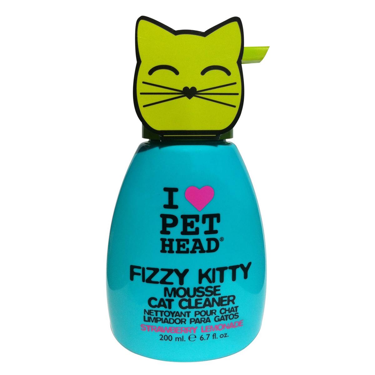 Pet Head Sampon Spuma Fizzy Kitty, 200 ml imagine