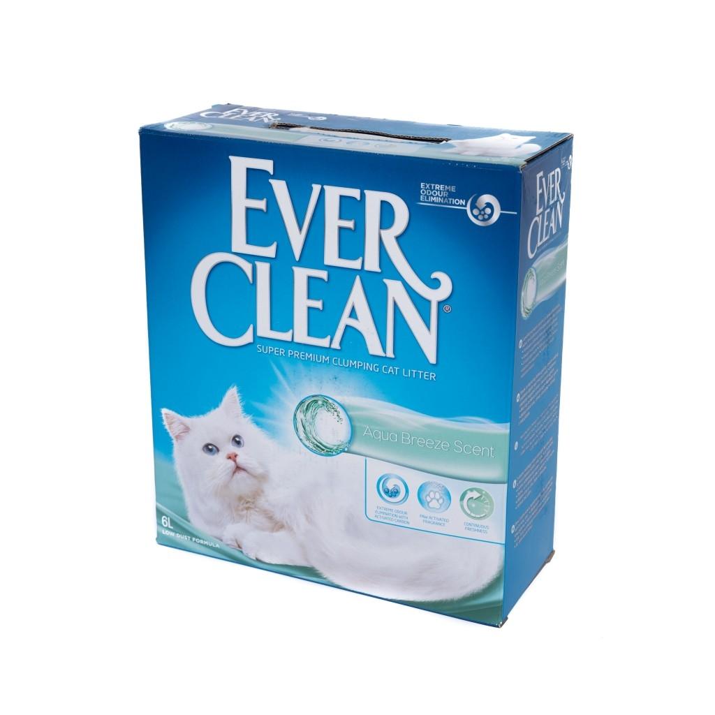 Nisip Igienic Ever Clean Aqua Breeze, 6 l imagine