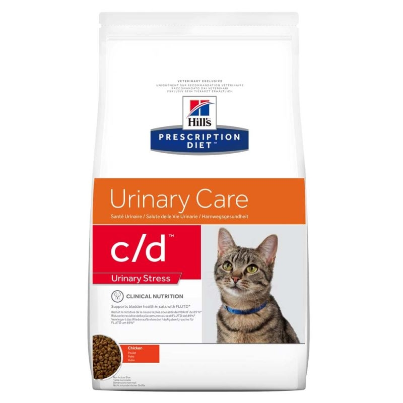 Hill's PD c/d Urinary Stress Urinary Care hrana pentru pisici 400 g imagine