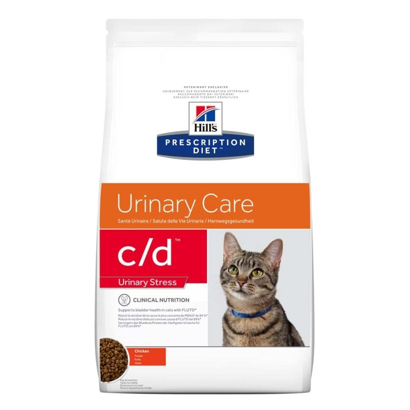 Hill's PD c/d Urinary Multi Stress hrana pentru pisici 4 kg imagine