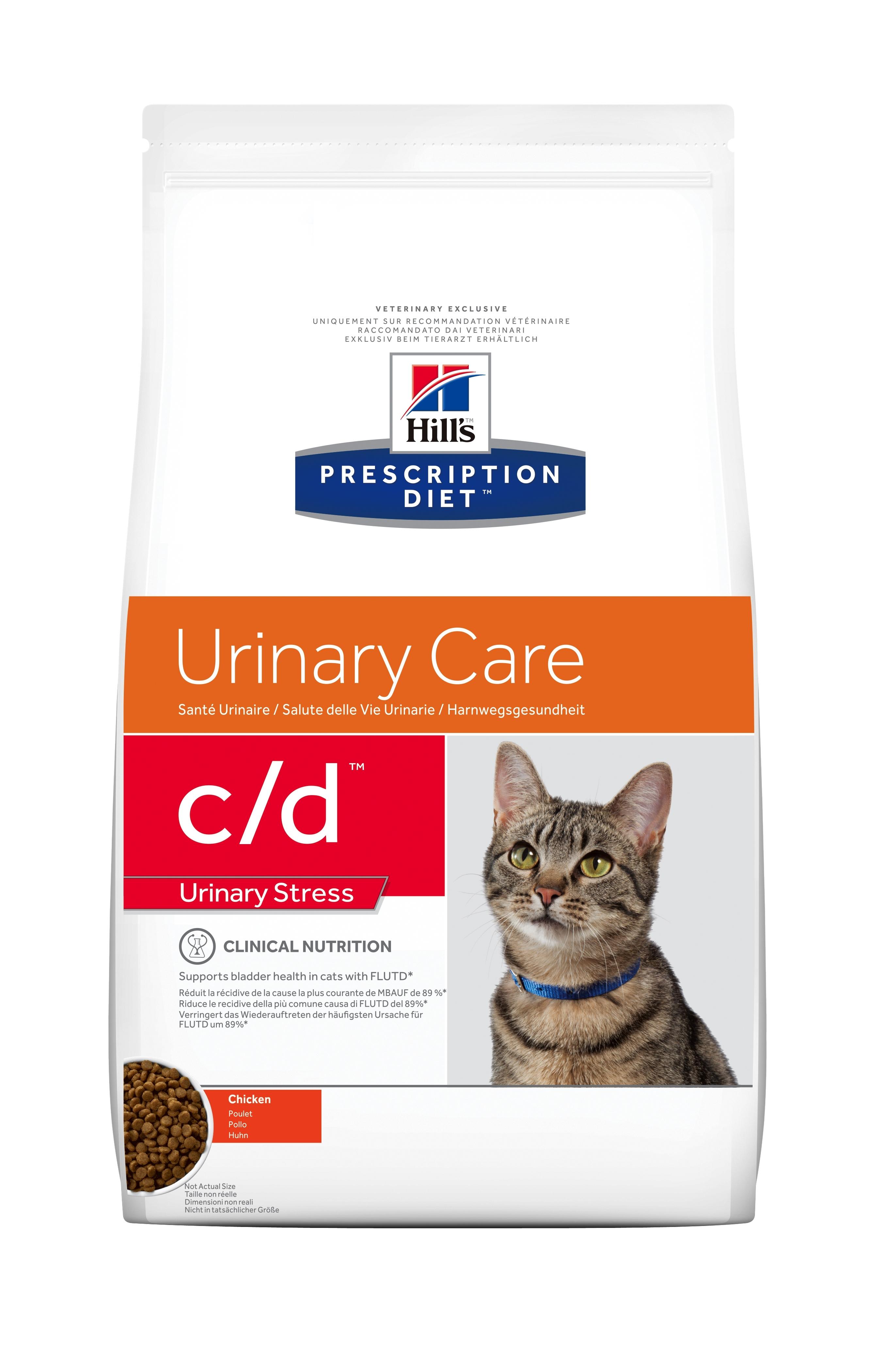 Hill's PD Feline C/D Multi Stress, 4 kg imagine