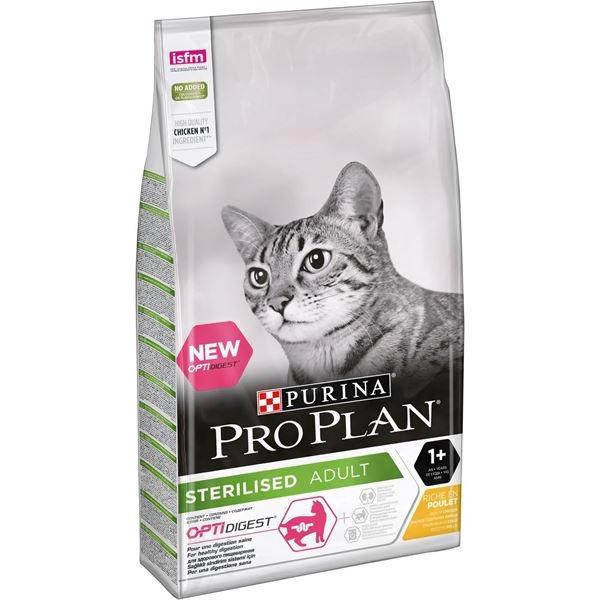 Pro Plan OptiDigest Cat Adult Chicken, 10 kg imagine