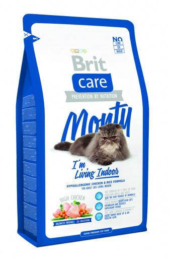 Brit Care Cat Monty Living Indoor, 2 Kg imagine