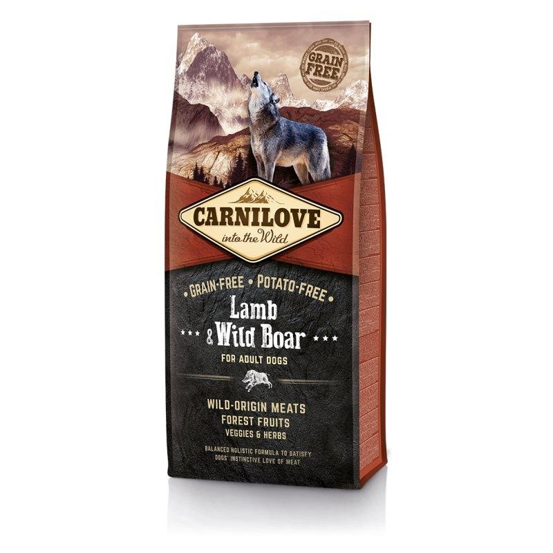 Carnilove Lamb and Wild Boar, 12 kg imagine