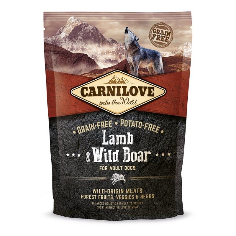 Carnilove Lamb and Wild Boar, 1.5 kg imagine