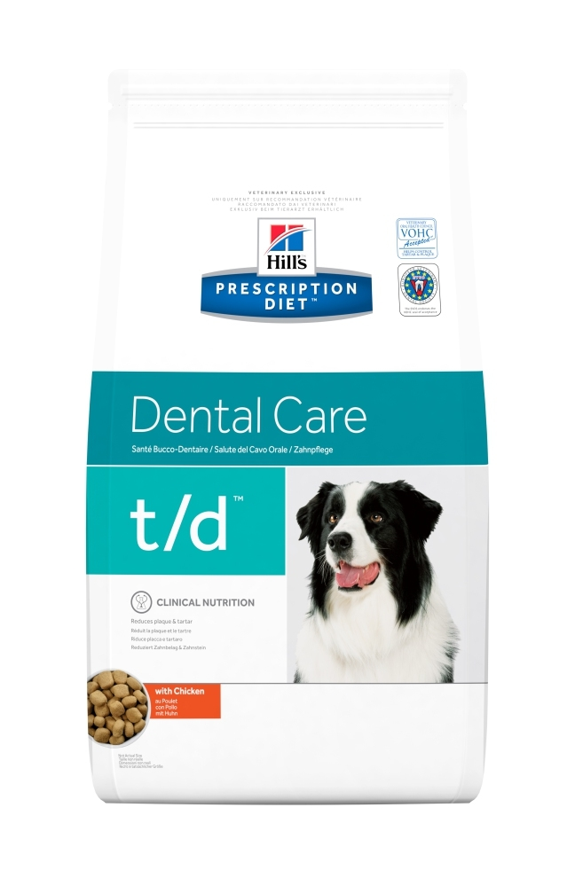 Hill's PD T/D Dental Care hrana pentru caini, 3 kg imagine