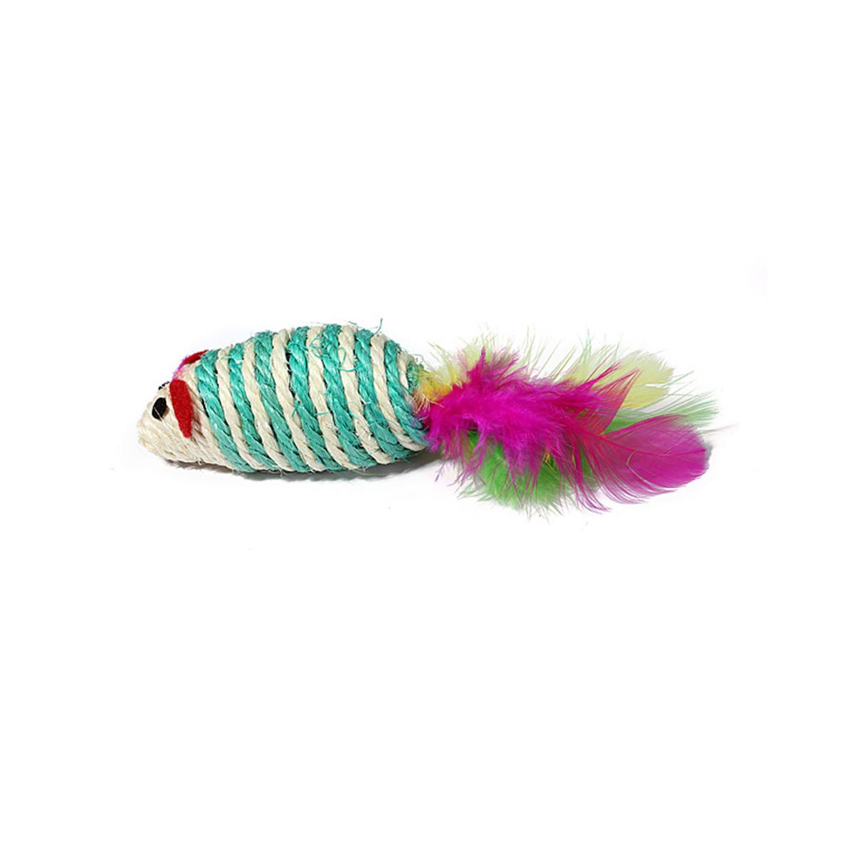 Jucarie pisica NT 298 soarece color imagine