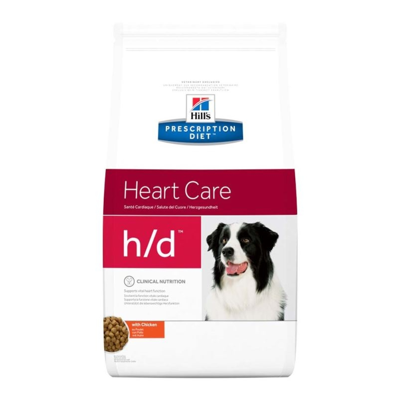 Hill's PD h/d Heart Care hrana pentru caini 5 kg imagine