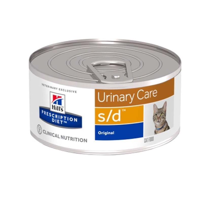 Hill's PD s/d Urinary Care hrana pentru pisici 156 g imagine