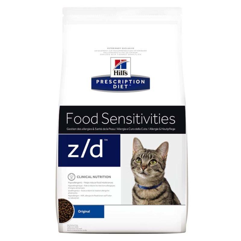 Hill's PD z/d Food Sensitivities hrana pentru pisici 2 kg imagine