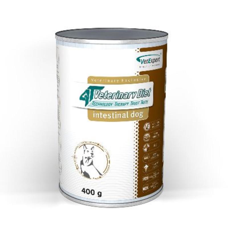 4T- Dieta umeda Intestinal dog, 400 g imagine