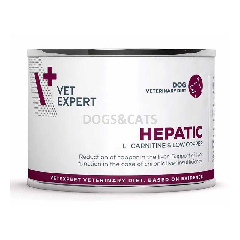 4T Veterinary Diet Hepatic Dog, 200 g imagine