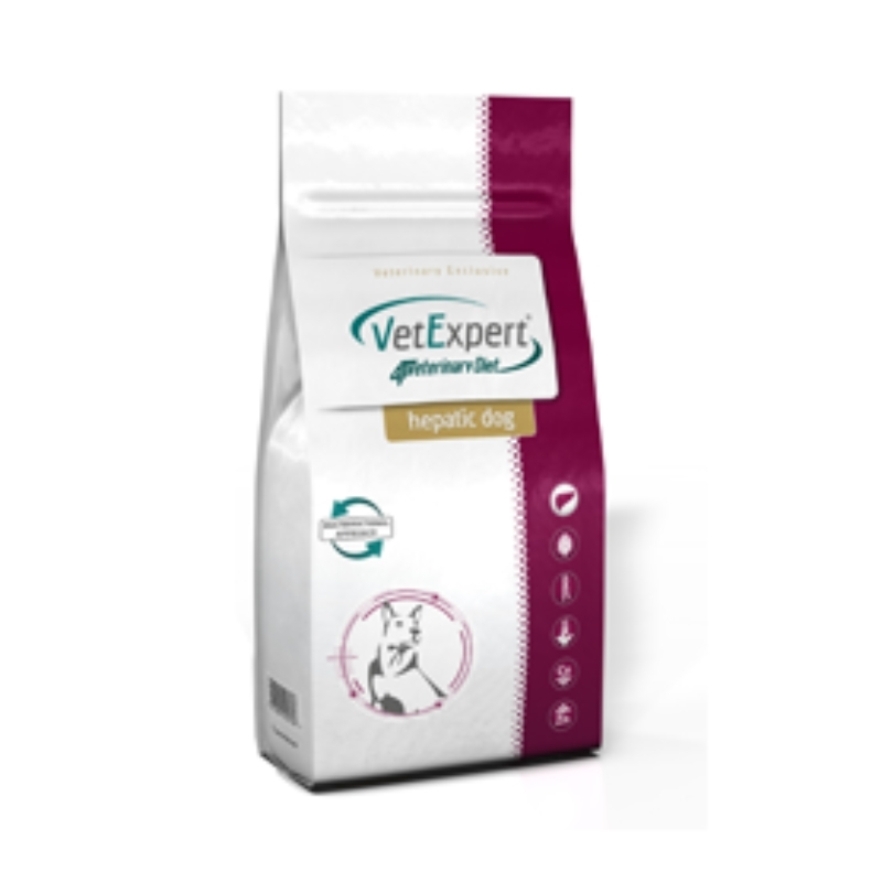 4T Veterinary Diet Hepatic Dog, 2 kg imagine