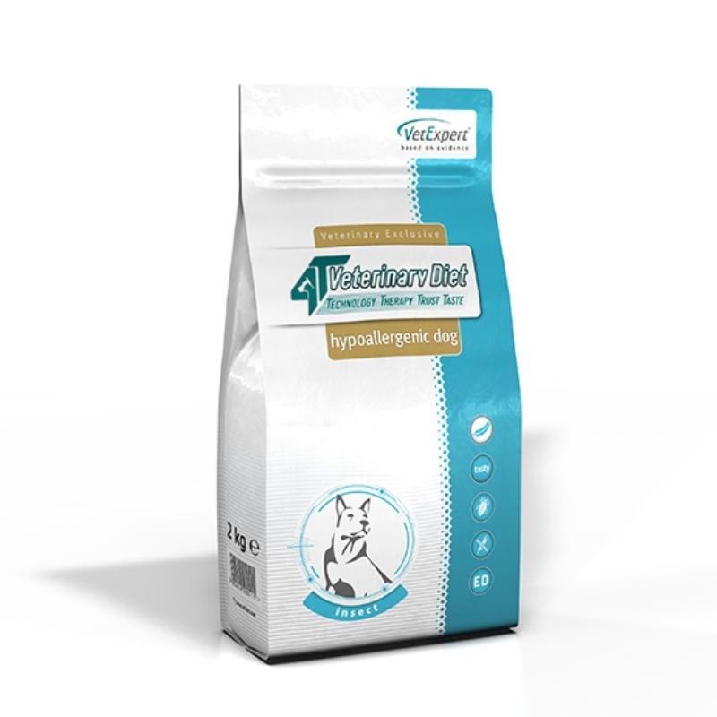 4T Veterinary Diet Hipoalergenic dog Insect, 2 kg imagine