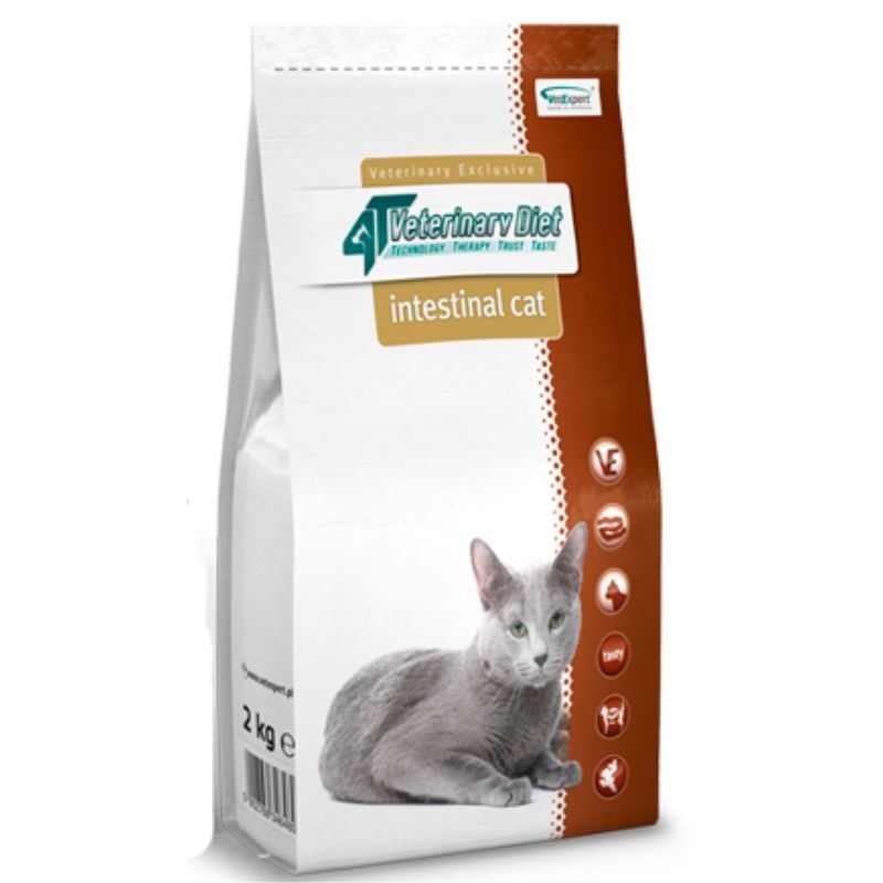4T Veterinary Diet Intestinal cat, 2 kg imagine