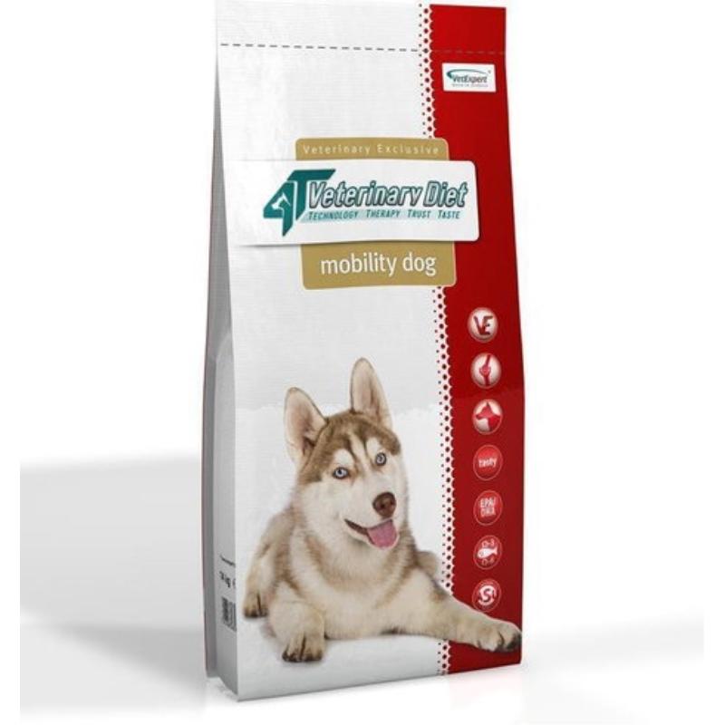 4T Veterinary Diet Mobility dog, 12 kg imagine