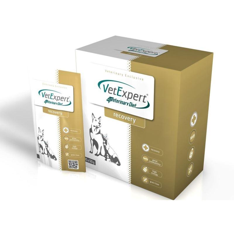 4T Veterinary Diet REcovery dog & cat Pudra, 15 x 50 g imagine