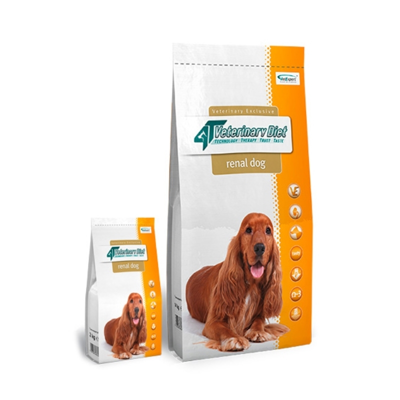 4T Veterinary Diet Renal dog, 14 kg imagine