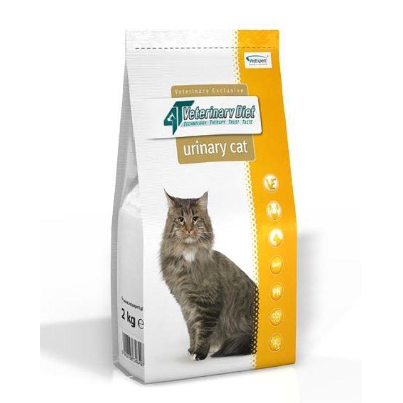 4T Veterinary Diet Urinary cat, 2 kg imagine