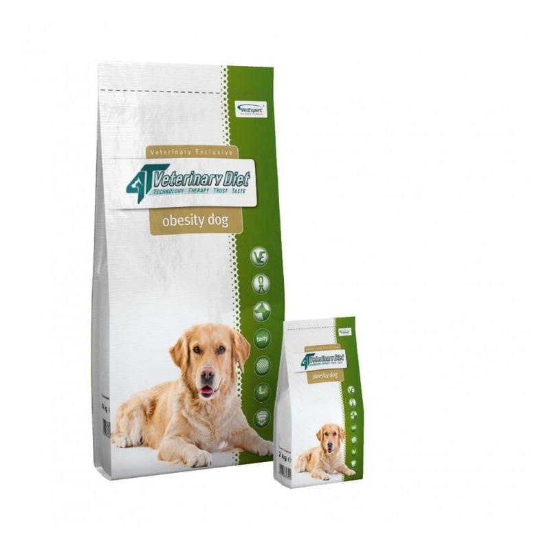 4T Veterinary Diet Obesity dog, 12 kg imagine