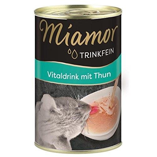 Hrana umed-lichida pisici, Miamor Vital Drink cu ton, 135 ml imagine