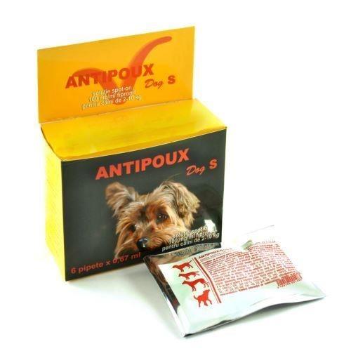 Pipeta antiparazitara, Antipoux Dog S imagine