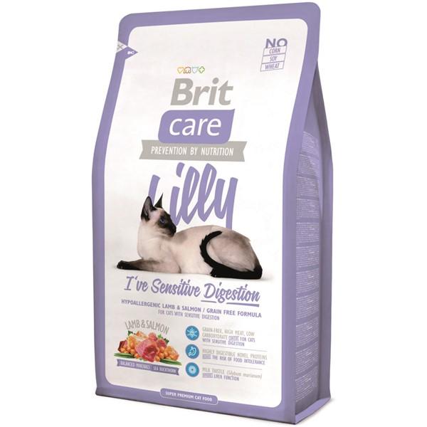 Brit Care Cat Lilly Sensitive Digestion, 2 kg imagine