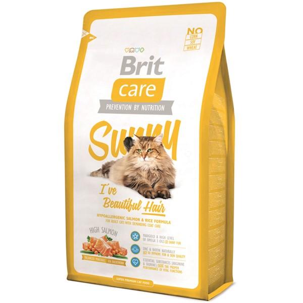 Brit Care Cat Sunny Beautiful Hair, 2 kg imagine