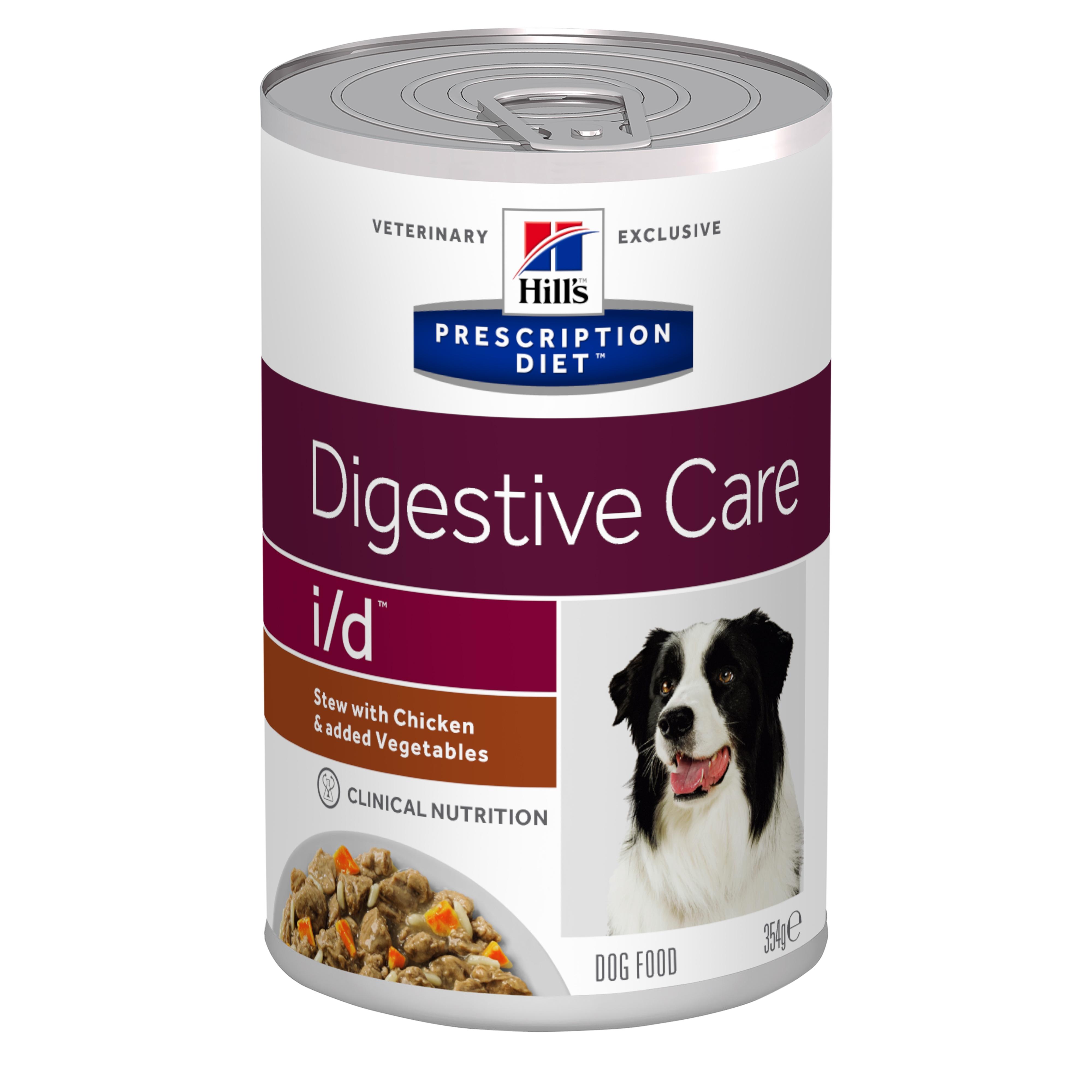Hill's PD i/d Digestive Care hrana pentru caini cu pui si legume, 354 g imagine