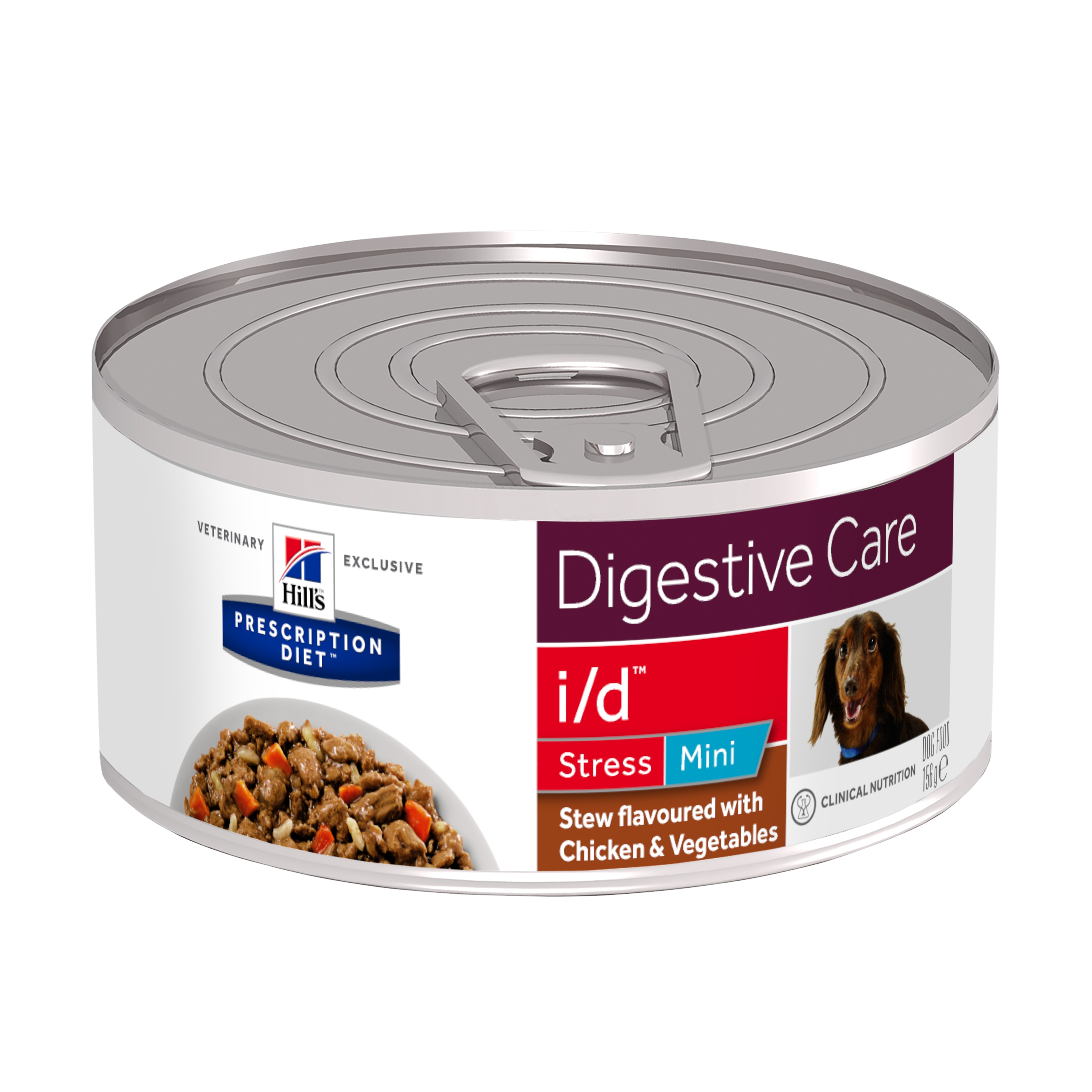 Hill's PD Canine I/D Stress Mini Chicken and Vegetable Stew, 156 g imagine