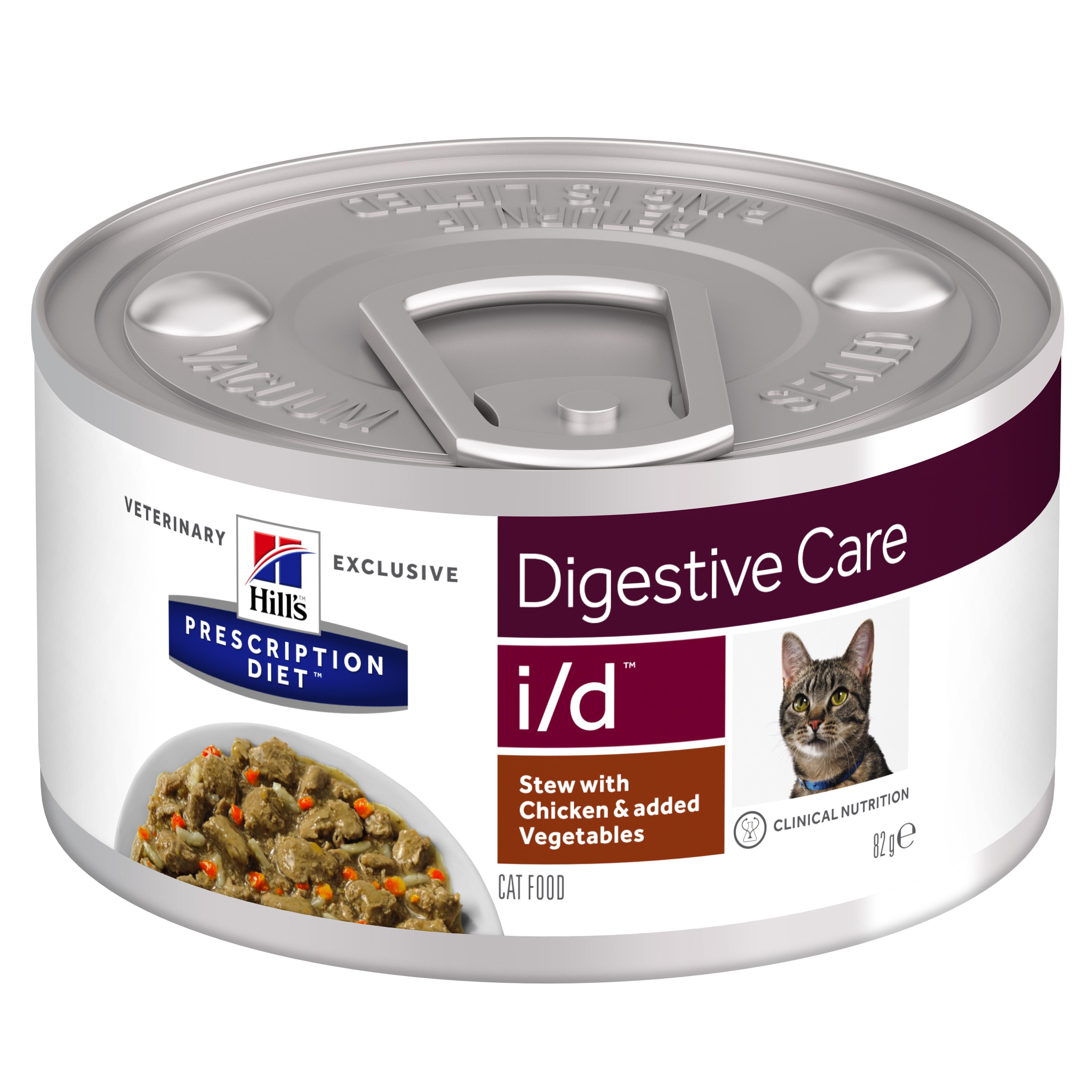 Hill's PD I/D Stew hrană pentru pisici cu pui și legume, 82g imagine