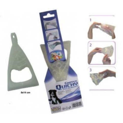 Dispozitiv plastic pentru excremente, Croci imagine