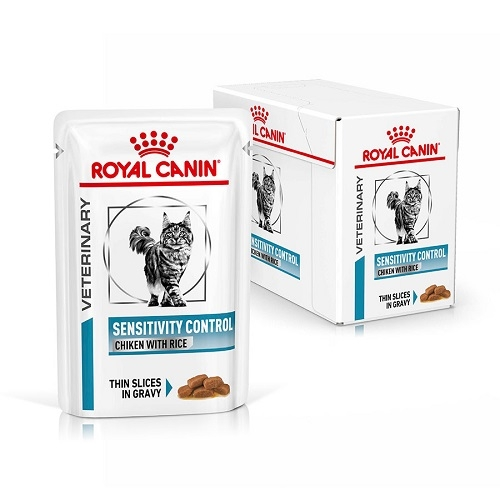 Royal Canin Sensitivity Control Cat, 12 plicuri x 85 g imagine