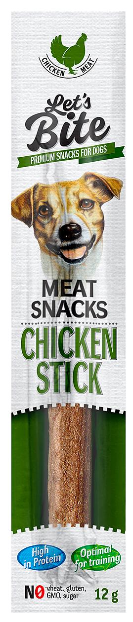 BRIT Let's Bite Meat Snacks Chicken Stick, 12 g imagine