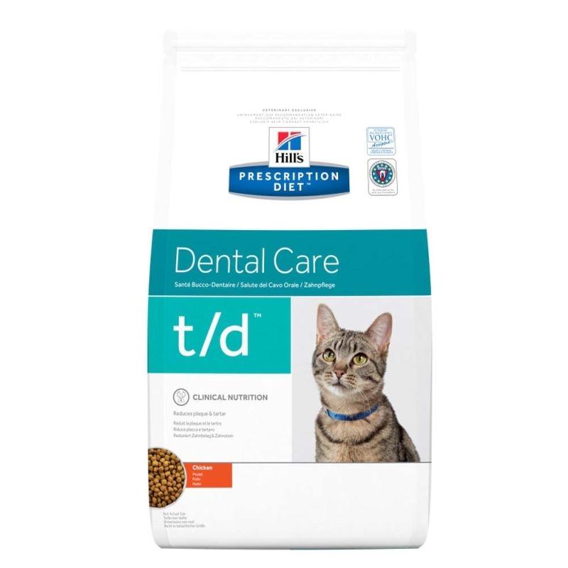 Hill's PD t/d Dental Care hrana pentru pisici 5 kg imagine