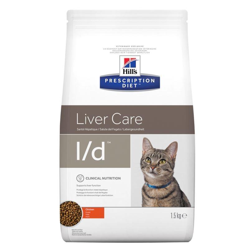 Hill's PD l/d Liver Care hrana pentru pisici 1.5 kg imagine