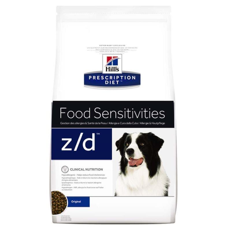 Hill's PD z/d Food Sensitivities hrana pentru caini 3 kg imagine