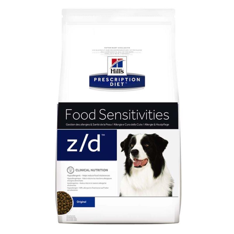 Hill's Pd Z/d Food Sensitivities Hrana Pentru Caini