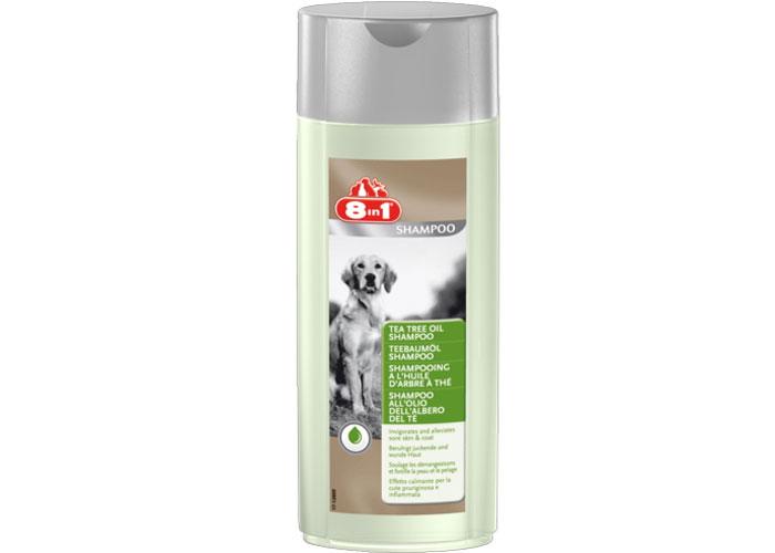 8 in 1 Sampon Caine Tea tree oil, 250 ml imagine