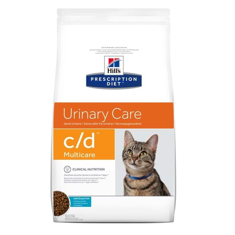 Hill's PD c/d Urinary Care hrana pentru pisici cu peste oceanic 5 kg imagine