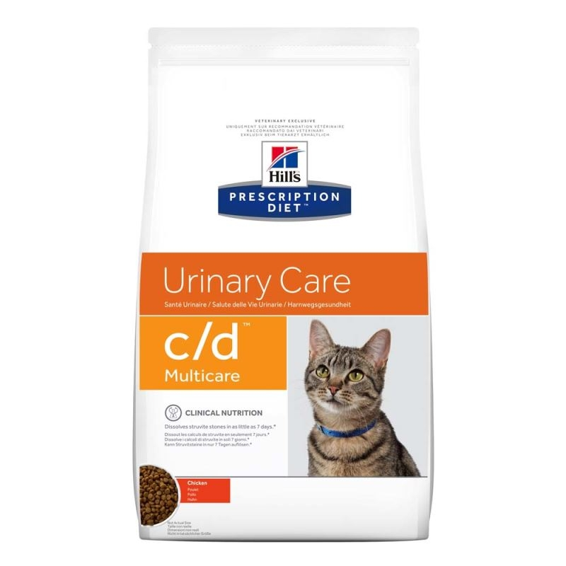 Hill's PD c/d Urinary Care hrana pentru pisici 400 g imagine