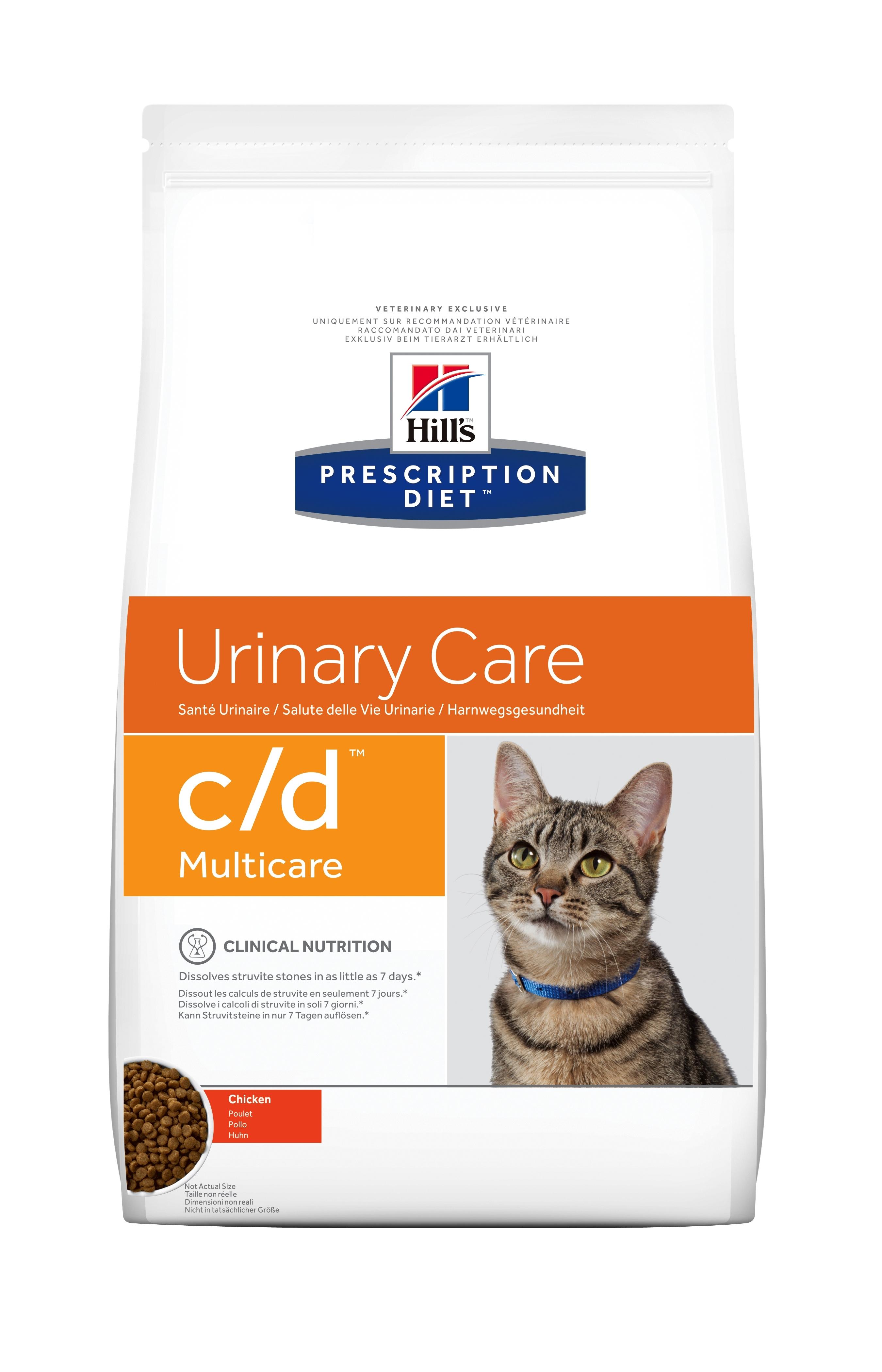 Hill's PD c/d Urinary Care hrana pentru pisici cu pui imagine