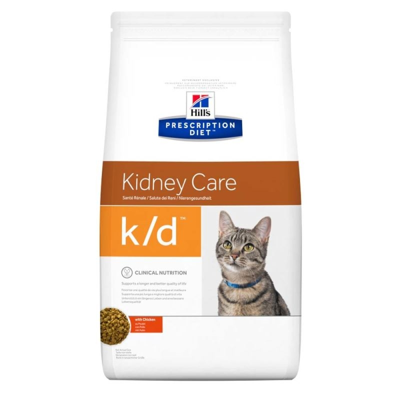 Hill's PD k/d Kidney Care hrana pentru pisici 5 kg imagine
