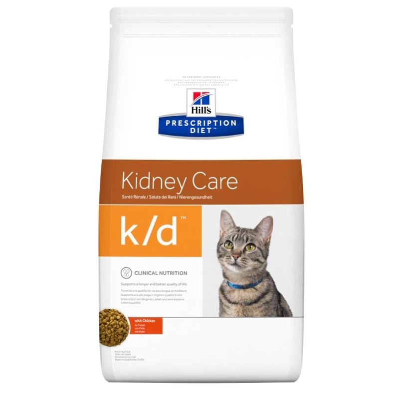 Hill's PD k/d Kidney Care hrana pentru pisici 400 g imagine