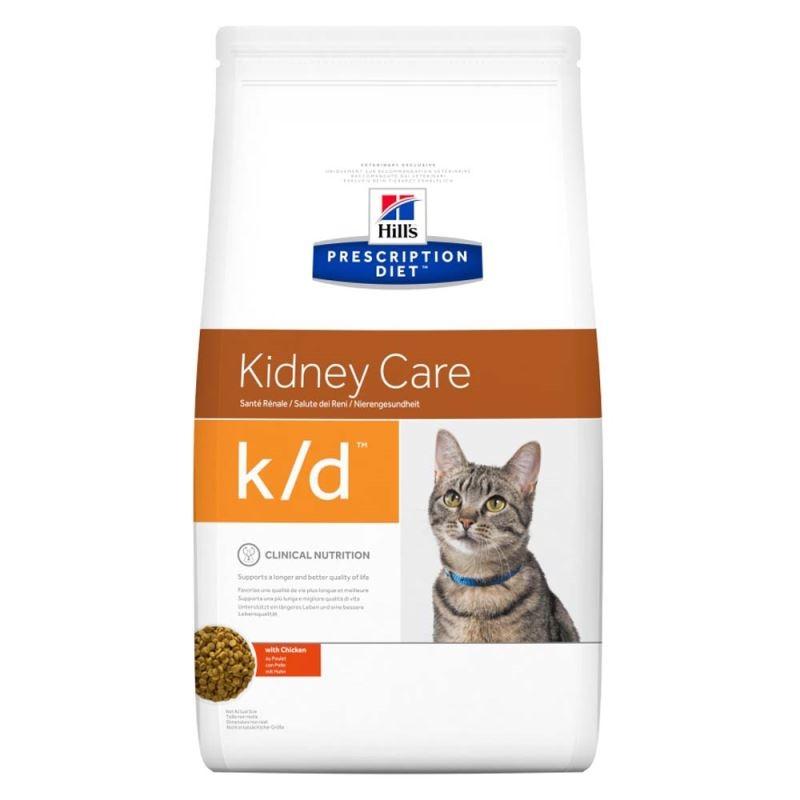 Hill's PD k/d Kidney Care hrana pentru pisici cu ton 5 kg imagine