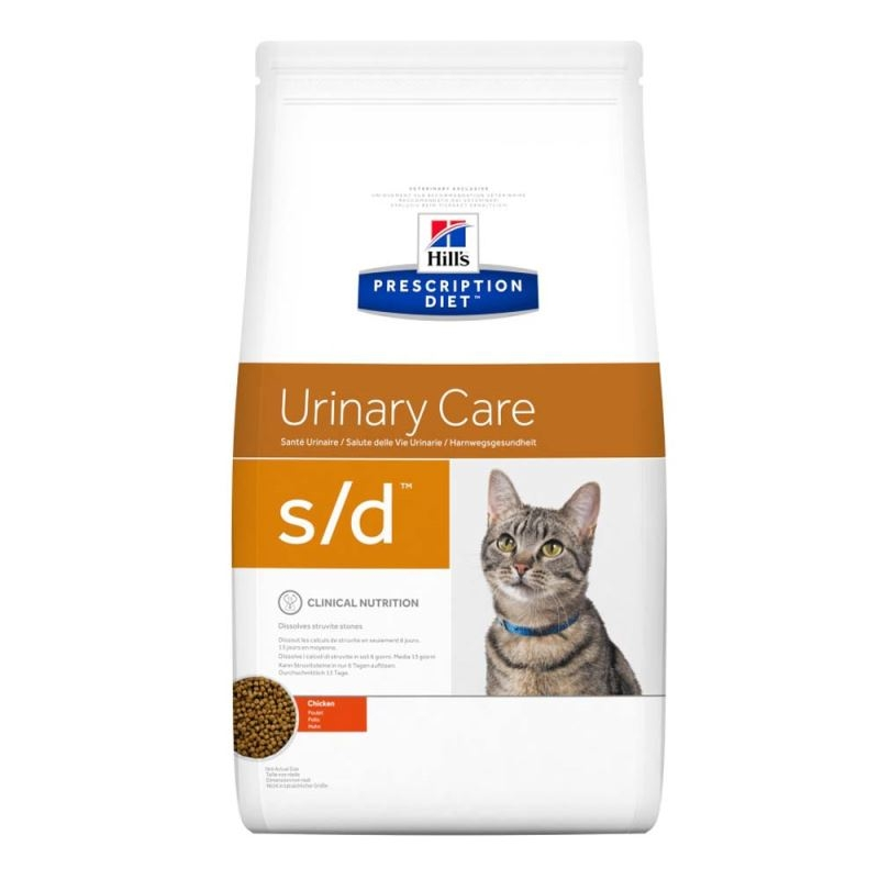 Hill's PD s/d Urinary Care hrana pentru pisici 1.5 kg imagine