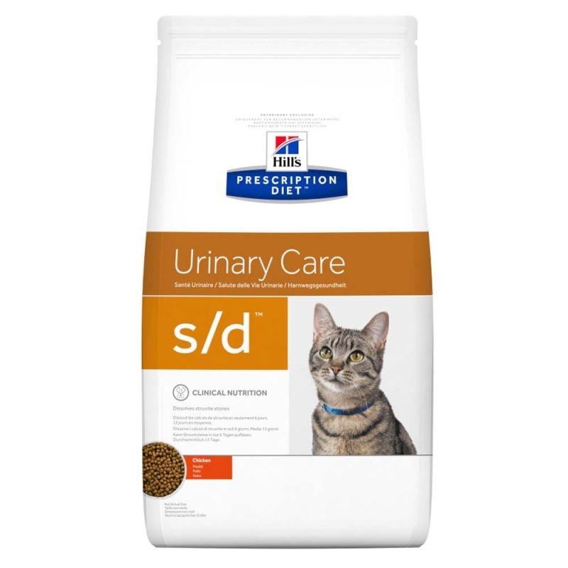 Hill's PD s/d Urinary Care hrana pentru pisici 5 kg imagine