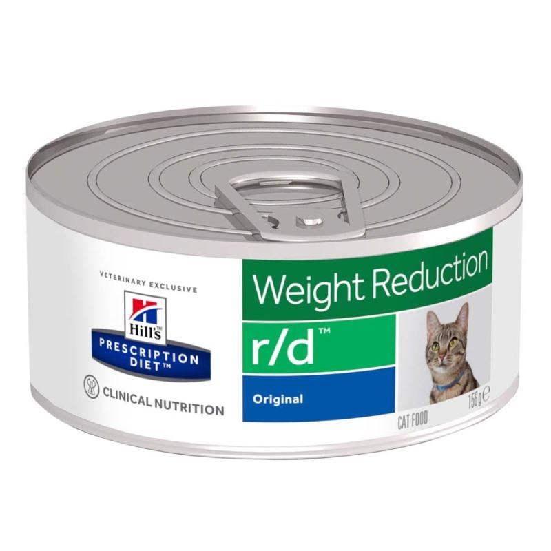 Hill's PD r/d Weight Reduction hrana pentru pisici cu pui 156 g imagine